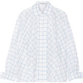 Vika Gazinskaya Printed Cotton-voile Shirt - White