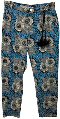 Figue Blue Cotton Trousers