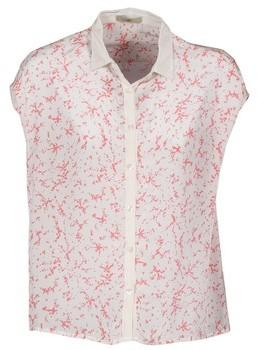 LOLA Cosmetics CANYON women's Short sleeved Shirt in White