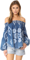 One Teaspoon St Lucia Off Shoulder Top