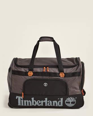"Timberland 26"" Green Highgate Wheeled Duffel"