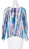 Rebecca Minkoff Leah Silk Top w/ Tags