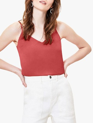 Oasis V-Neck Camisole Top, Pink