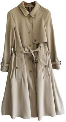 Burberry Beige Wool Trench Coat for Women