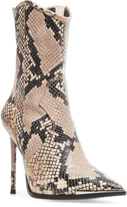 Steve Madden Tina Pointed Toe Western Bootie