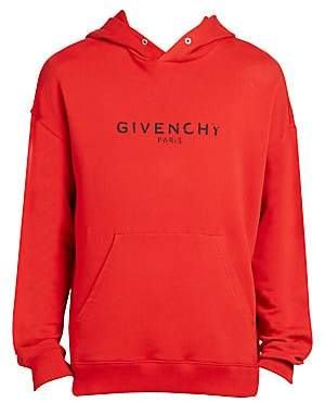 Givenchy Men's Vintage Logo Hoodie