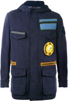Fendi - military jacket - men - Cotton/Nylon/Polyamide/Wool - 46