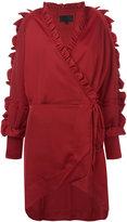 Iil7 ruffle detail short dress