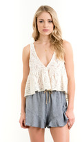 Saltwater Luxe - Stay Golden Tank Lace