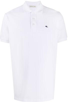 Etro Embroidered-Logo Polo Shirt