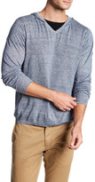 Autumn Cashmere V-Neck Pullover Hoodie