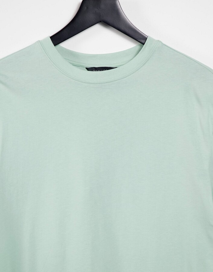 Thumbnail for your product : New Look boyfriend t-shirt in light green