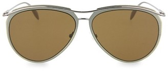 Alexander McQueen 60MM Aviator Sunglasses