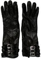 Rachel Zoe Long Leather Gloves