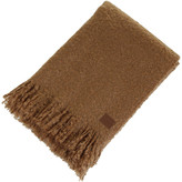 UGG Luxe Mohair Throw - Chestnut