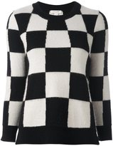 Marc Jacobs checkboard jumper