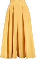 Roksanda Lilian pleated silk-blend skirt