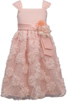 Bonnie Jean Girls 7-16 Floral Bonaz Party Dress