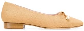 Leandra Medine Shell Ballerina Shoes