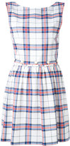 MAISON KITSUNÉ checked flared dress - women - Cotton - 34