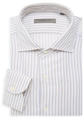 Corneliani Regular-Fit Striped Dress Shirt