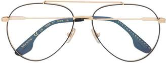 Victoria Beckham aviator frame glasses