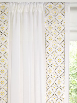 John Lewis & Partners Tribeca Slot Top Voile Panel