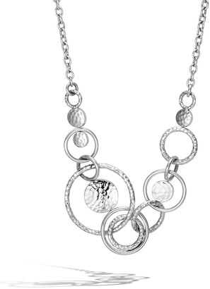 John Hardy Dot Hammered Multi-Link Necklace