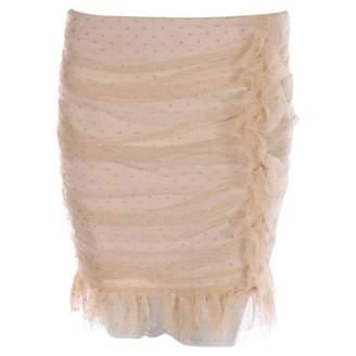 Patrizia Pepe Beige Skirt for Women
