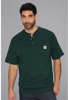 Carhartt Big & Tall Workwear Pocket S/S Henley