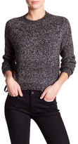 John & Jenn Long Sleeve Knit Side Lace-Up Sweater