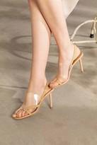 J.ING Vexxer PVC Heels in Tan