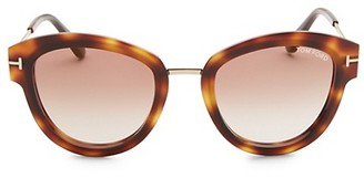 Tom Ford Mia Tortoiseshell Sunglasses