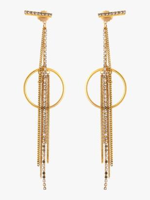 Erickson Beamon Breaker of Chains Earrings