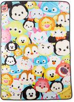 Disney Disney's Tsum Tsum Teal Stacks Throw Blanket Bedding