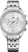 Tommy Hilfiger 1781571 Stainless Steel Ladies Watch - Silver Dial