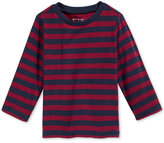 First Impressions Baby Boys' Long-Sleeve Striped Thermal T-Shirt, Only at Macy's