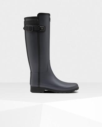 Hunter Women's Refined Slim Fit Contrast Tall Wellington Boots