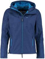 Superdry Hooded Windtrekker Light Jacket Eclipse Navy/aqua