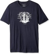 Nautica Men's Big and Tall Ship Script Graphic T-Shirt, Value Not Found