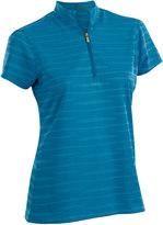 Women's Nancy Lopez Ripple Short Sleeve Golf Polo