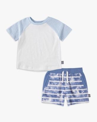 Splendid Little Boy Tie Dye Stripe Short Set
