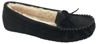 Secret Treasures Women's Mocassin Slipper Wide Width