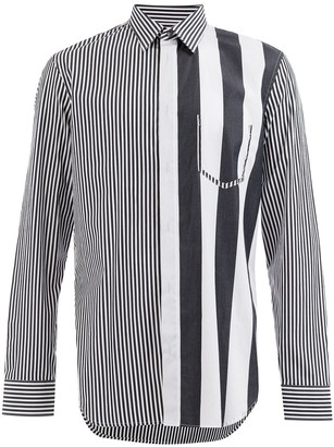 Maison Margiela striped shirt