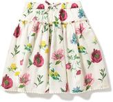Old Navy Floral Pom-Pom-Hem Midi Skirt for Toddler Girls