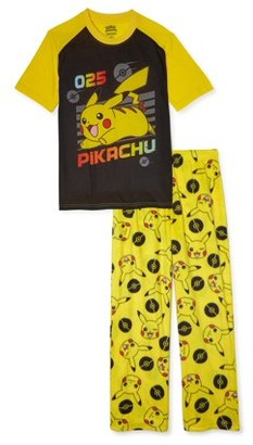 Pokemon Boys Exclusive Short Sleeve 2-Piece Pajama Set Sizes 4-16