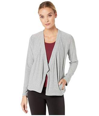 Chaser Cozy Knit Long Sleeve Open Front Blazer