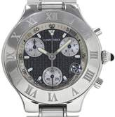 Cartier Must 21 W10172T2 Stainless Steel Automatic 37mm Mens Watch