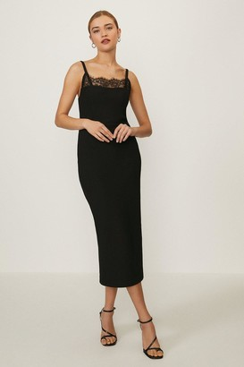 Coast Lace Trimmed Pencil Dress