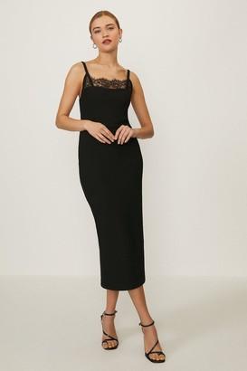 Coast Lace Trimmed Pencil Dress